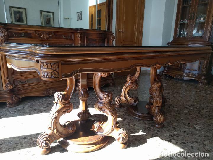 muebles comedor tallados a mano de madera de ce - Comprar Artesania ...