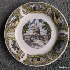 Artesanía: PLATO THE CAPITOL WASHINGTON D.C. / FOR DECORATIVE USE ONLY / MADE IN JAPAN / MIDE: 19'5 CMS. DIÁMET. Lote 111523755