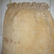 Artesanía: ANTIGUA PANERA GANCHILLO ARTESANAL. Lote 111693551