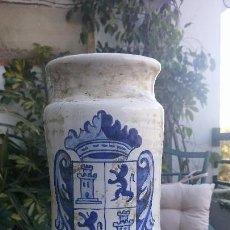 Artesanía: ALBARELO DE FARMACIA - CERÁMICA DE TALAVERA. Lote 112261555