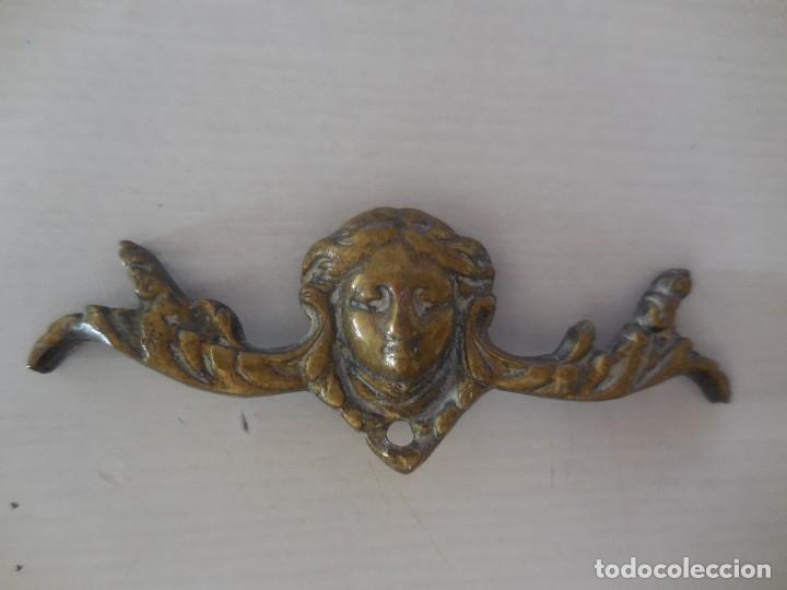 ADORNO DE MUEBLE. BRONCE. S. XIX. ORIGINAL¡¡¡ (Artesanía - Hogar y Decoración)