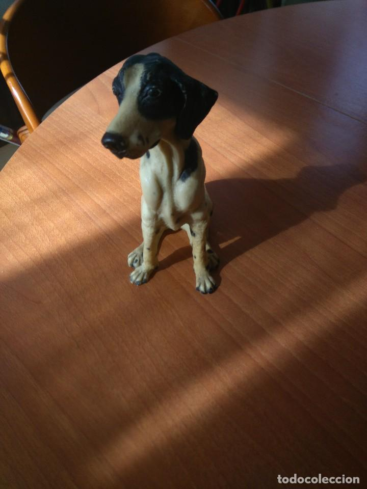 Artesanía: Antigua figura de perro de caza años 50 - Foto 6 - 191672665