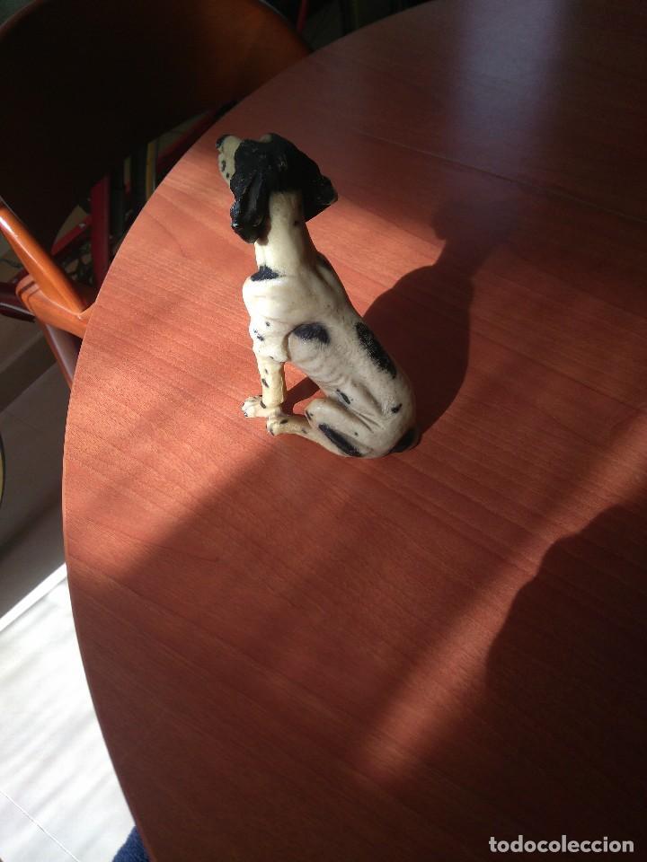 Artesanía: Antigua figura de perro de caza años 50 - Foto 8 - 191672665
