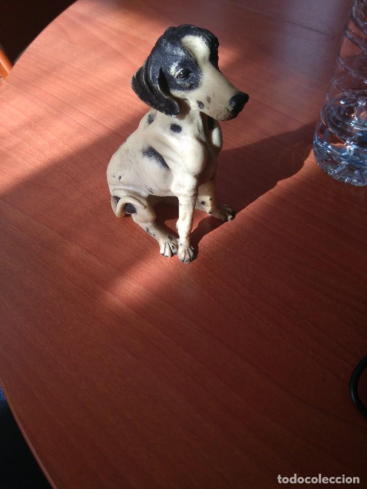Artesanía: Antigua figura de perro de caza años 50 - Foto 10 - 191672665