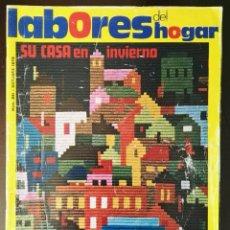 Artesanía: REVISTA LABORES DEL HOGAR N° 221 1976 CON PATRONES VINTAGE. Lote 117525840