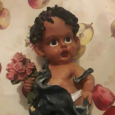 Artesanía: FIGURA NIÑO. 37CM. RESINA.. Lote 117669739