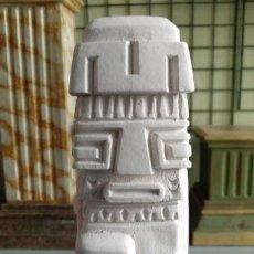 Artesanía: ESTATUILLA TIWANAKU DE 16CM. FIGURA DE ESCAYOLA PARA PINTAR. Lote 120439167