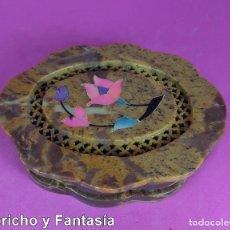 Artesanía: CAJA DE ESTEATITA Nº EST307 . 2. Lote 121985259