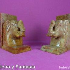Artesanía: SUJETA LIBROS ELEFANTE Nº EST704 . 2. Lote 121986519