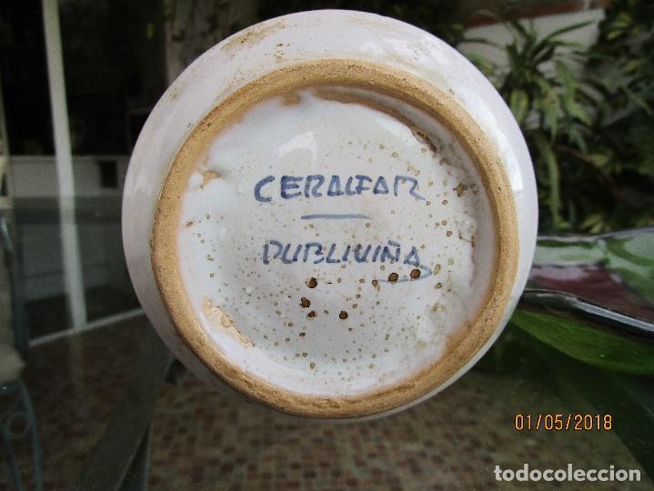 Artesanía: TARRO DE FARMACIA - CERÁMICA DE TALAVERA - ALTO 25 CM. ANCHO 12 CM. - Foto 3 - 122538351