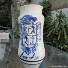 Artesanía: TARRO DE FARMACIA PINTADO A MANO - CERÁMICA DE TALAVERA - TIRADA 661/3000. Lote 122550719