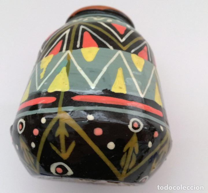 Artesanía: Pequeño jarrón arte de sudamerica - Foto 2 - 124386443