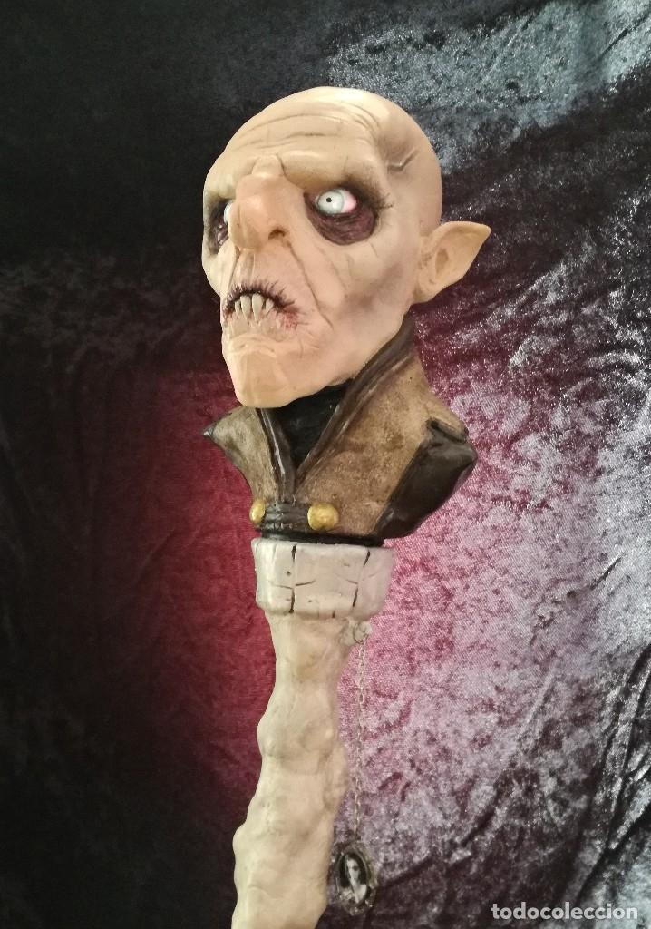Artesanía: Busto Vampiro Nosferatu Dracula Estatua Figura Resina Peliculas Cine Clásicos Horror Monsters P:2 - Foto 3 - 84169468