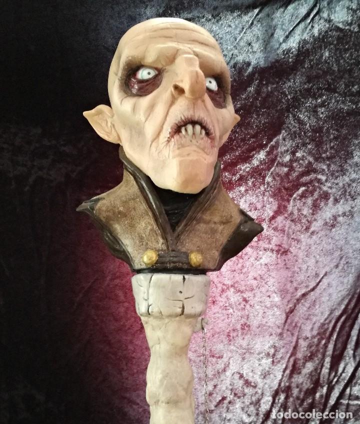 Artesanía: Busto Vampiro Nosferatu Dracula Estatua Figura Resina Peliculas Cine Clásicos Horror Monsters P:2 - Foto 4 - 84169468