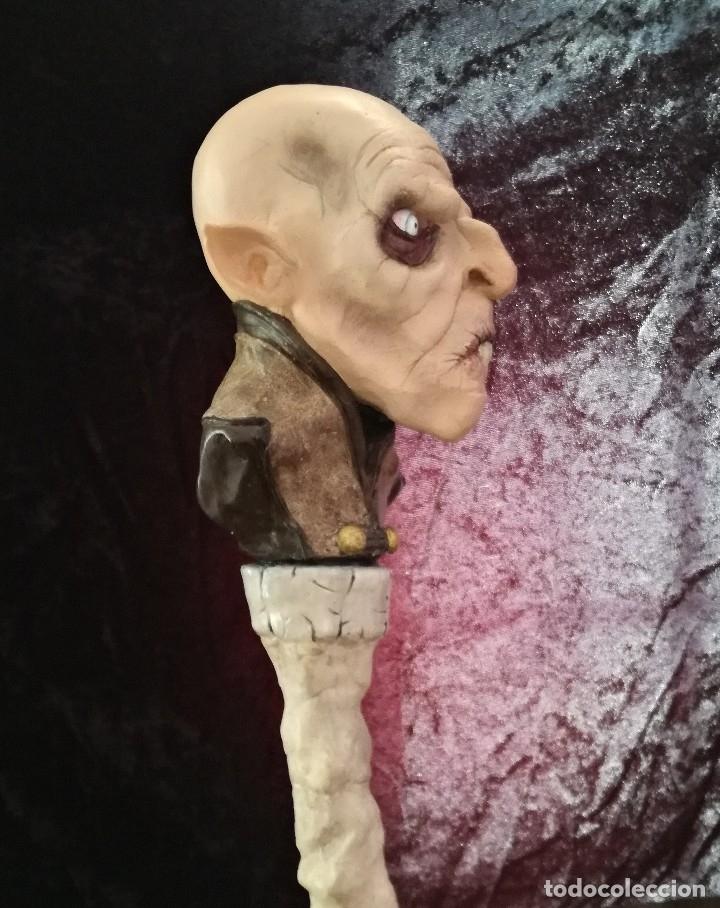 Artesanía: Busto Vampiro Nosferatu Dracula Estatua Figura Resina Peliculas Cine Clásicos Horror Monsters P:2 - Foto 5 - 84169468