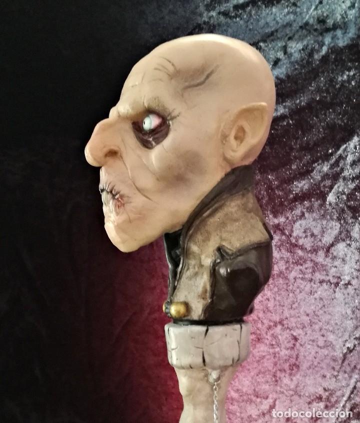 Artesanía: Busto Vampiro Nosferatu Dracula Estatua Figura Resina Peliculas Cine Clásicos Horror Monsters P:2 - Foto 6 - 84169468