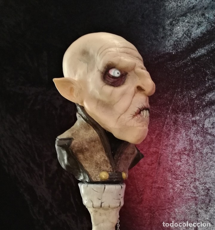 Artesanía: Busto Vampiro Nosferatu Dracula Estatua Figura Resina Peliculas Cine Clásicos Horror Monsters P:2 - Foto 7 - 84169468