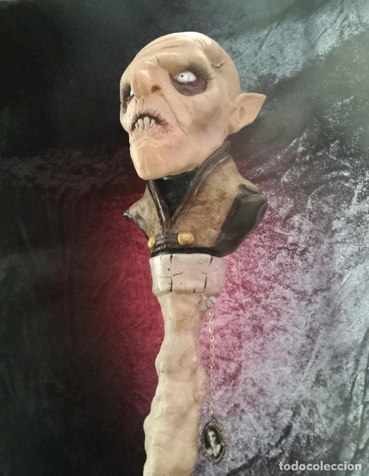 Artesanía: Busto Vampiro Nosferatu Dracula Estatua Figura Resina Peliculas Cine Clásicos Horror Monsters P:2 - Foto 11 - 84169468