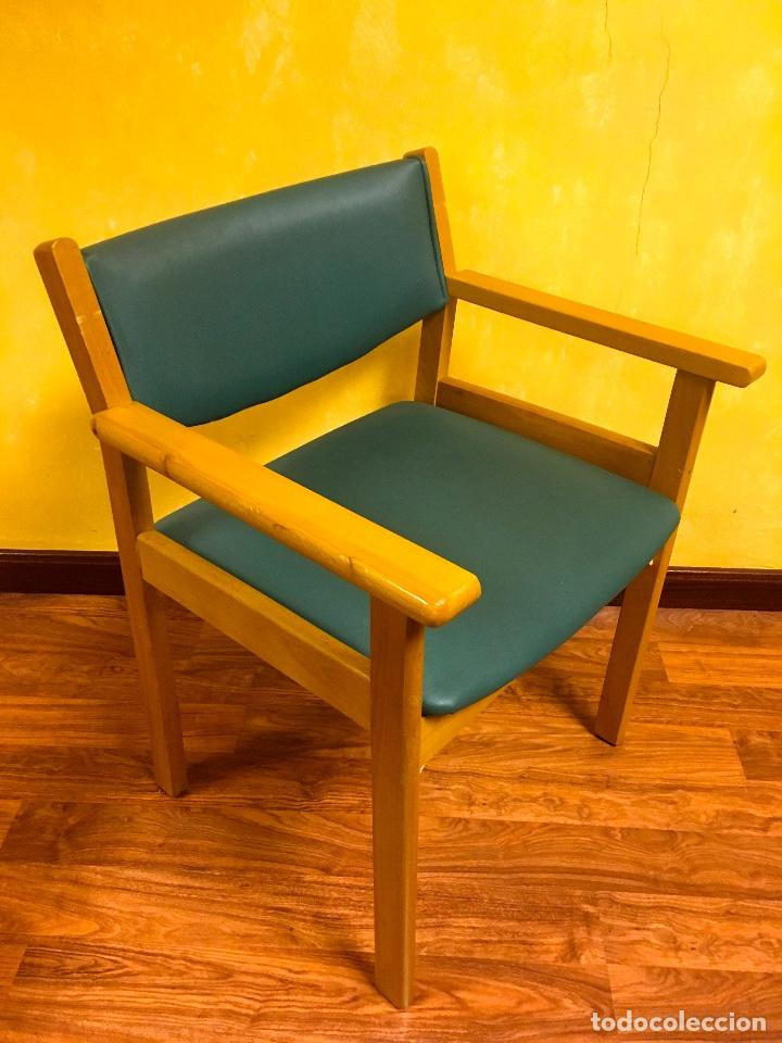 sillón comedor interior madera - tapizado en ve - Comprar Artesania ...