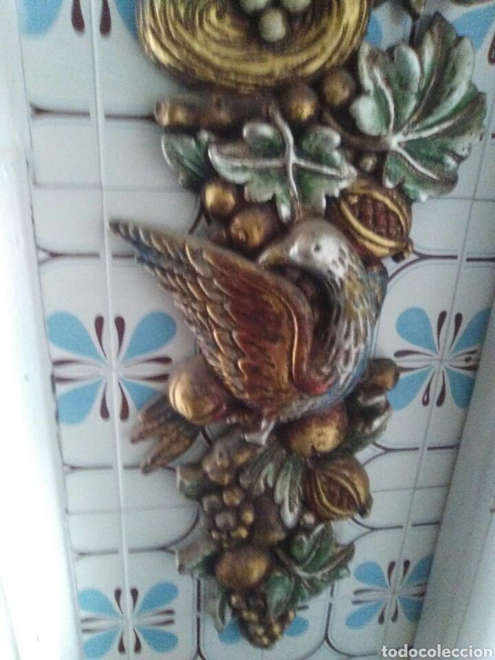 Artesanía: Escultura de madera policromada un metro de longitud..mucho colorido y repujado - Foto 3 - 125422822