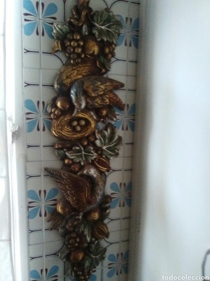 Artesanía: Escultura de madera policromada un metro de longitud..mucho colorido y repujado - Foto 4 - 125422822