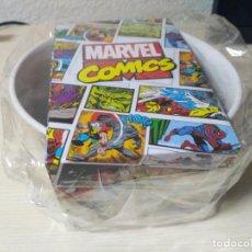 Artesanía: MARVEL COMICS BOL CEREALES CERAMICA SPIDER-MAN. Lote 127894427