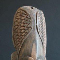 Artesanía: MASCARA DE PARED DEL LAGO EDEL. PAPUA NUEVA GUINEA. Lote 127918807