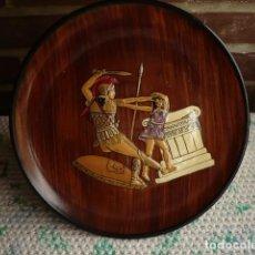 Artesanía: PLATO DE BARRO O CERÁMICA EGIPCIO COLGAR. Lote 132989782