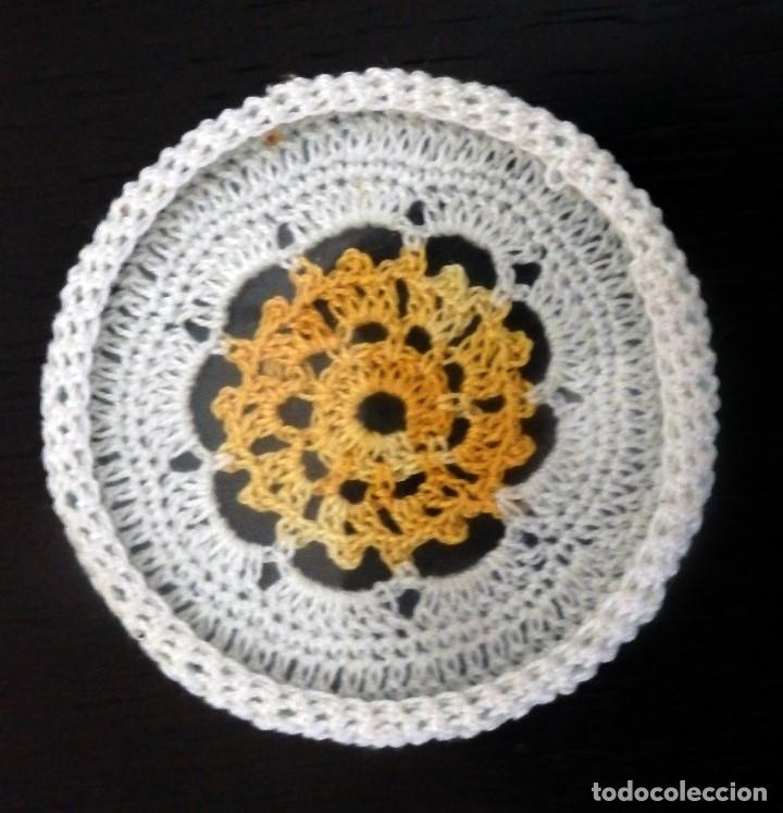 Artesanía: Posavasos cristal sobrecubiertos ganchillo - Foto 5 - 133236474