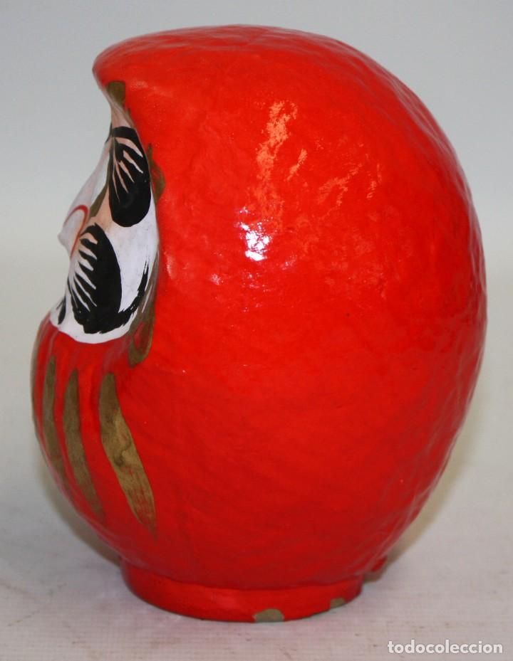 Artesanía: BONITA CABEZA JAPONESA DE PAPEL-MACHÉ. - Foto 3 - 133695598