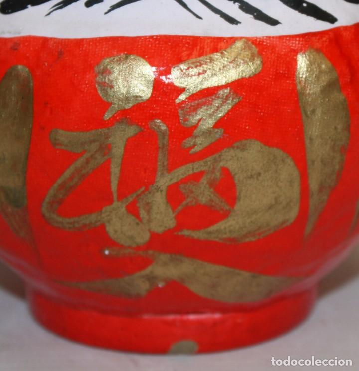 Artesanía: BONITA CABEZA JAPONESA DE PAPEL-MACHÉ. - Foto 4 - 133695598