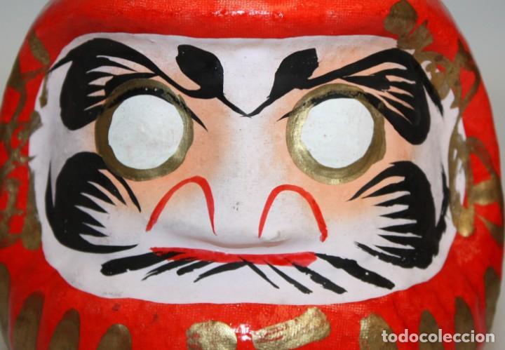 Artesanía: BONITA CABEZA JAPONESA DE PAPEL-MACHÉ. - Foto 6 - 133695598