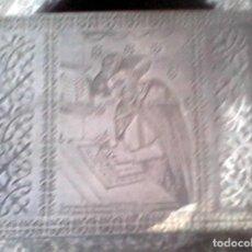 Artesanía: CAJA METAL PO.LI OPTIK, ITALIA -1950. Lote 134335426