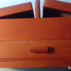 Kunsthandwerk - Caja costurero de madera musical - 134377550