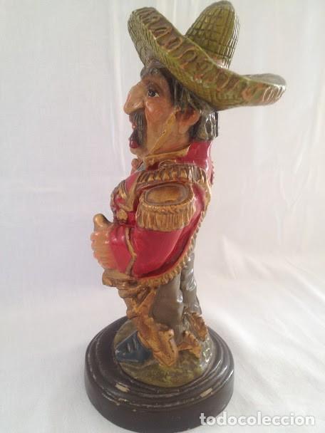 Artesanía: figura de mexicano - Foto 2 - 135274646