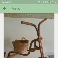 Artesanía: MACETERO DE MIMBRE. Lote 135501134
