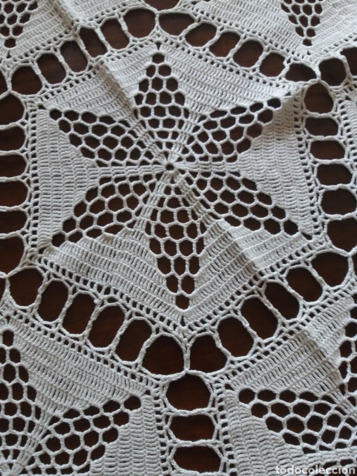 Artesanía: Tapete ganchillo hexagonal - Foto 2 - 136815025