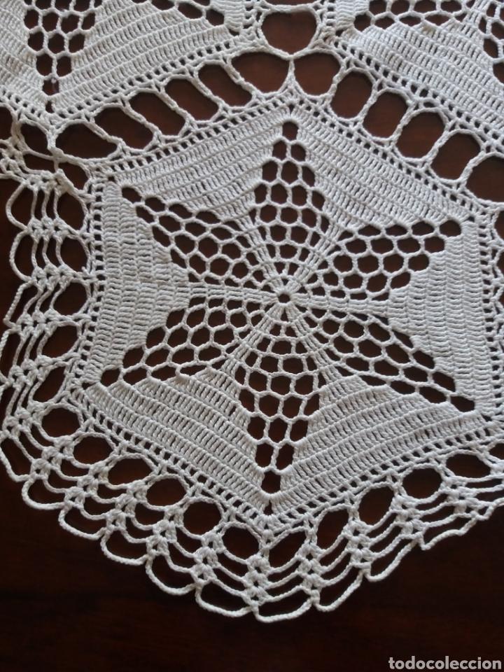 Artesanía: Tapete ganchillo hexagonal - Foto 3 - 136815025