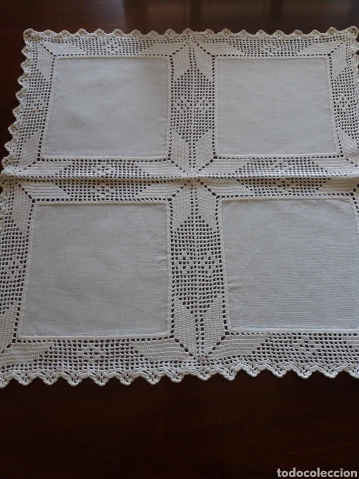 Artesanía: Tapetes(2) cuadrados ganchillo - Foto 2 - 136816212