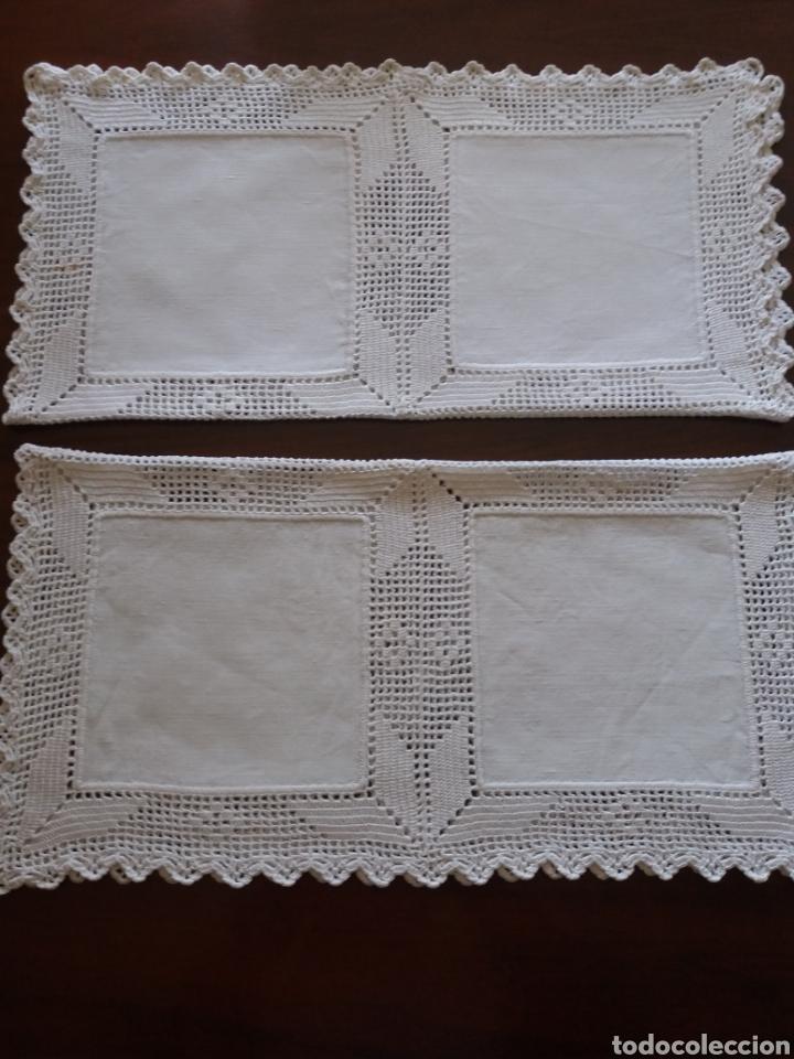 Artesanía: Tapetes(2) cuadrados ganchillo - Foto 3 - 136816212