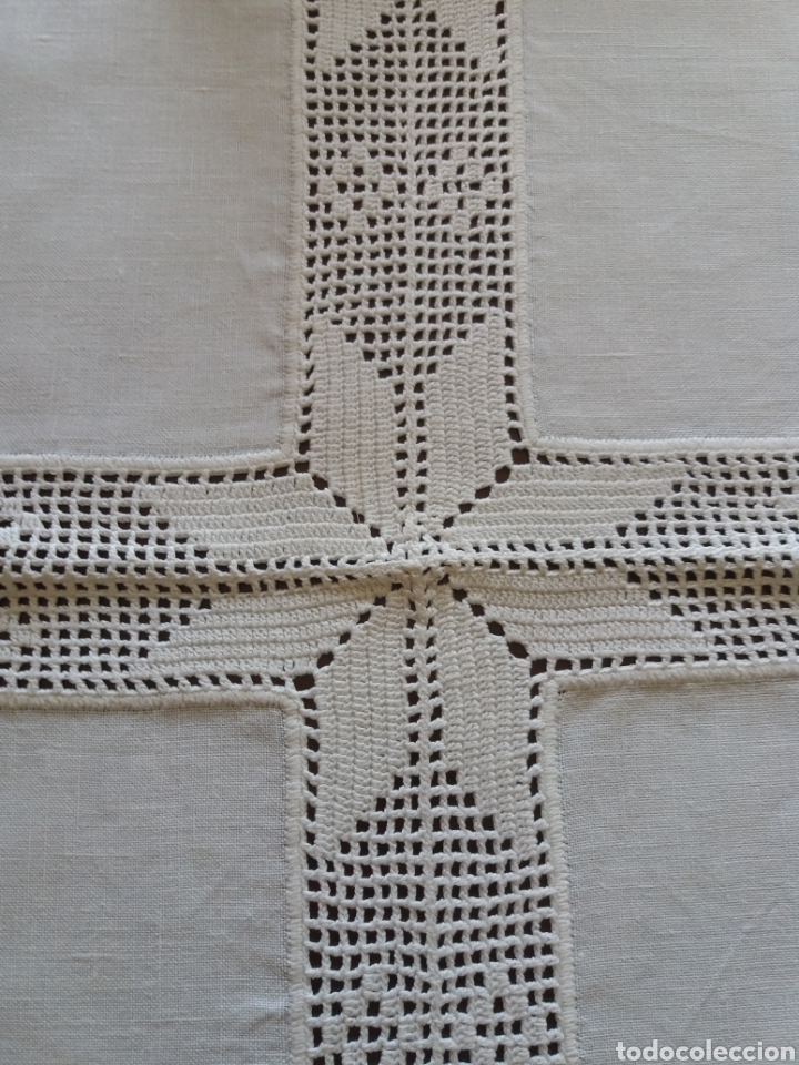 Artesanía: Tapetes(2) cuadrados ganchillo - Foto 4 - 136816212