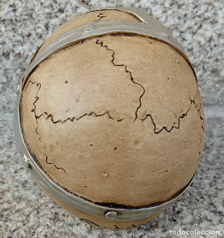 Artesanía: CALAVERA PARCHE de 11 x 9 cm en polvo de alabastro - Foto 3 - 156776814
