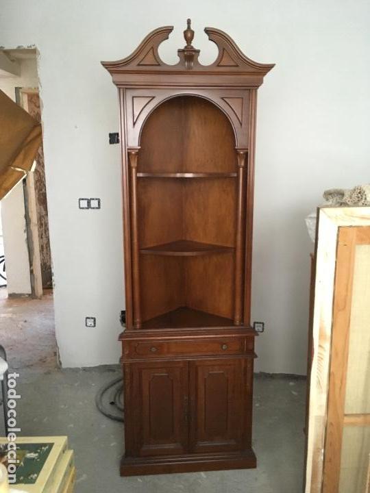 Armario esquinero (como nuevo) madera decoració - Verkauft durch ...