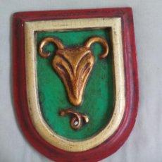 Artesanía: CUADRO CON SIGNO DEL ZODIACO CAPRICORNIO , HOROSCOPO. 18 X 14 X 2 CM. GARIN ANTESANIA. MADRID. Lote 138628274