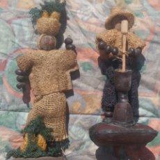Artesanía: FIGURAS AFRICANAS ARTESANALES /// ÁFRICA / ARTE ÉTNICO / ÉBANO / SENEGAL / MASAI / MARFIL / ETIOPÍA. Lote 138682430