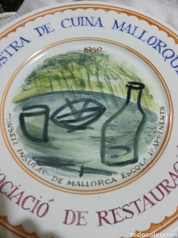 Artesanía: Plato conmemorativo. Cocina Mallorca. - Foto 2 - 138918405