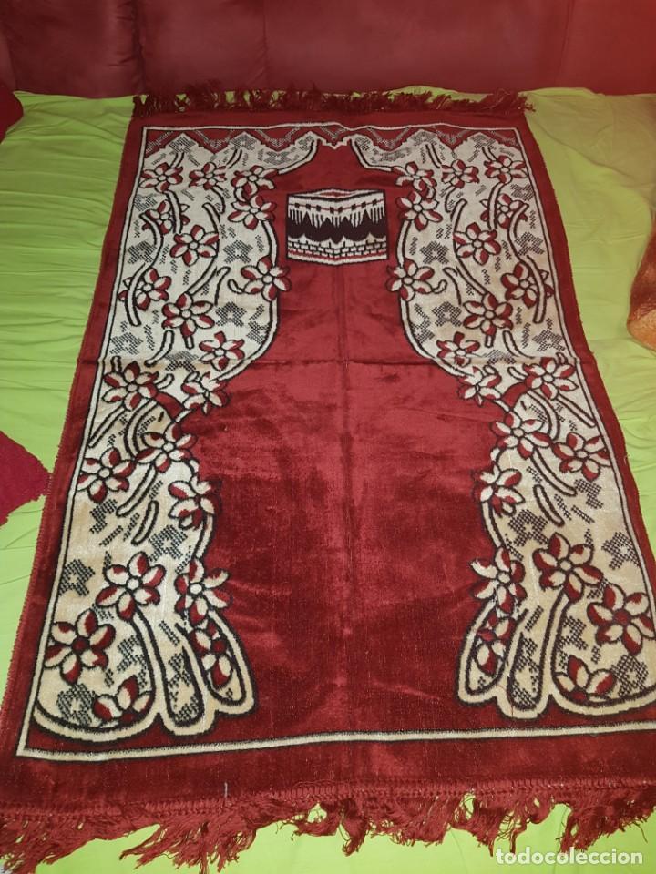 PRECIOSA ALFOMBRA ÁRABE PARA ORACIÓN,PROCEDE DE TURKIA. (Artesanía - Hogar y Decoración)