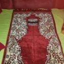 Artesanía: PRECIOSA ALFOMBRA ÁRABE PARA ORACIÓN,PROCEDE DE TURKIA.. Lote 138996290