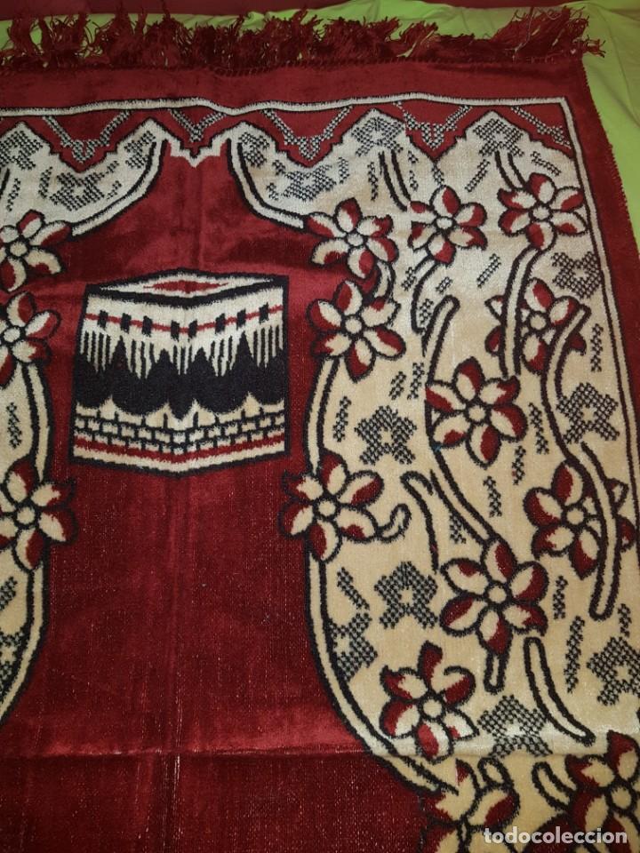Artesanía: Preciosa alfombra árabe para oración,procede de turkia. - Foto 3 - 138996290