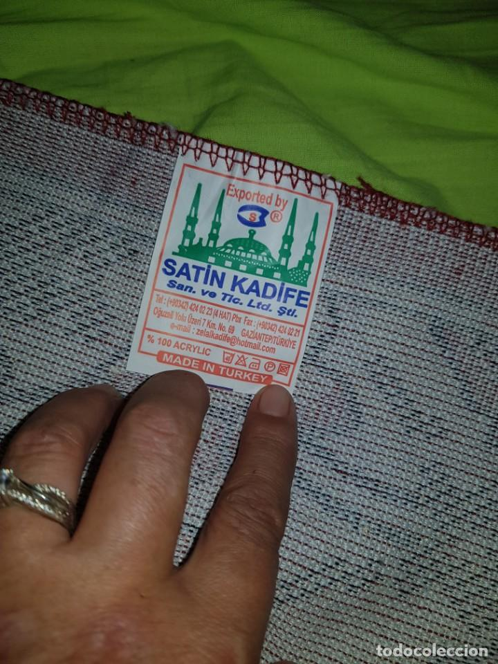 Artesanía: Preciosa alfombra árabe para oración,procede de turkia. - Foto 7 - 138996290